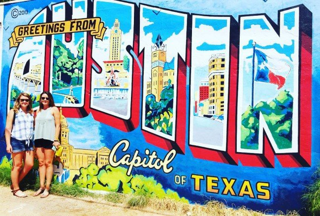 Greetings from Austin!