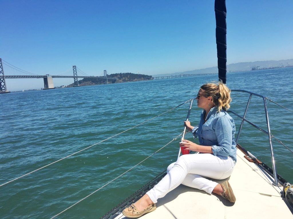Sailing on the SF Bay
