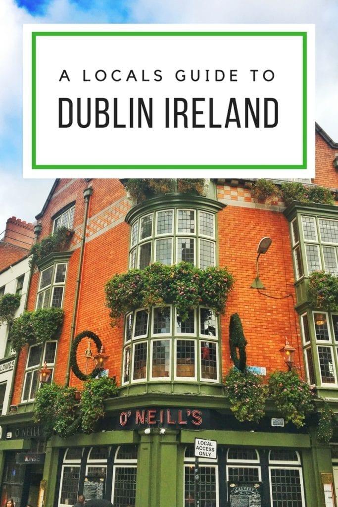 Dublin like a local