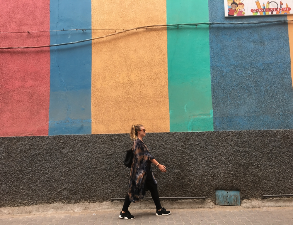 Diaries in Italy and Morocco: 9 months!