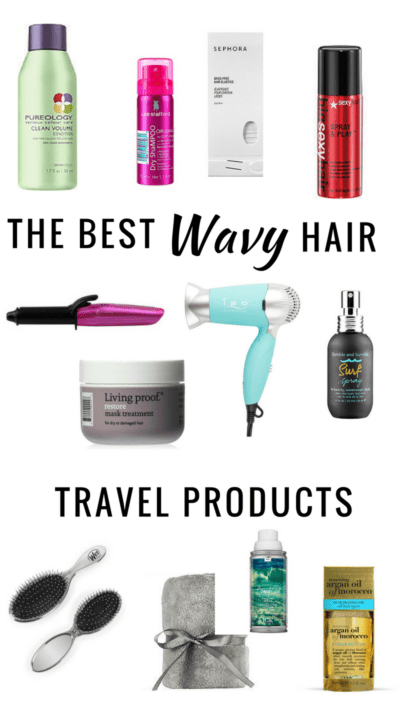 travel products for wavy hair