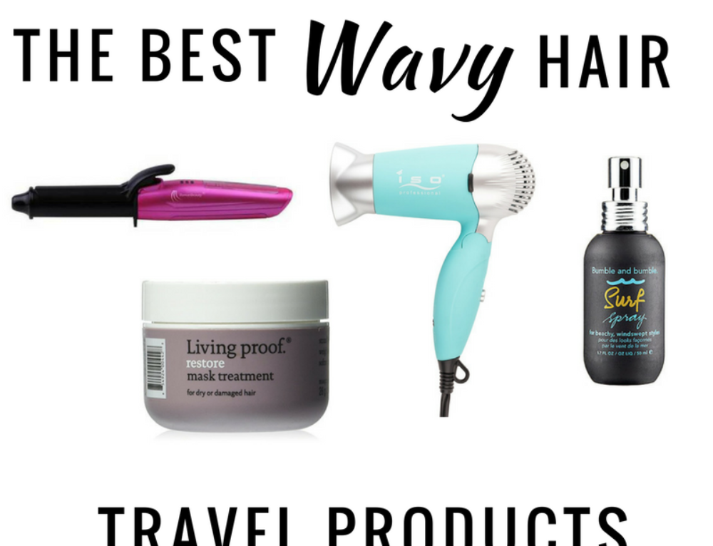 The 11 Best Wavy Hair Travel Products