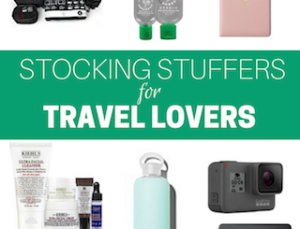 Holiday Gift Guide: Stocking Stuffers for Travel Lovers
