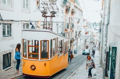 Lisbon cable cars