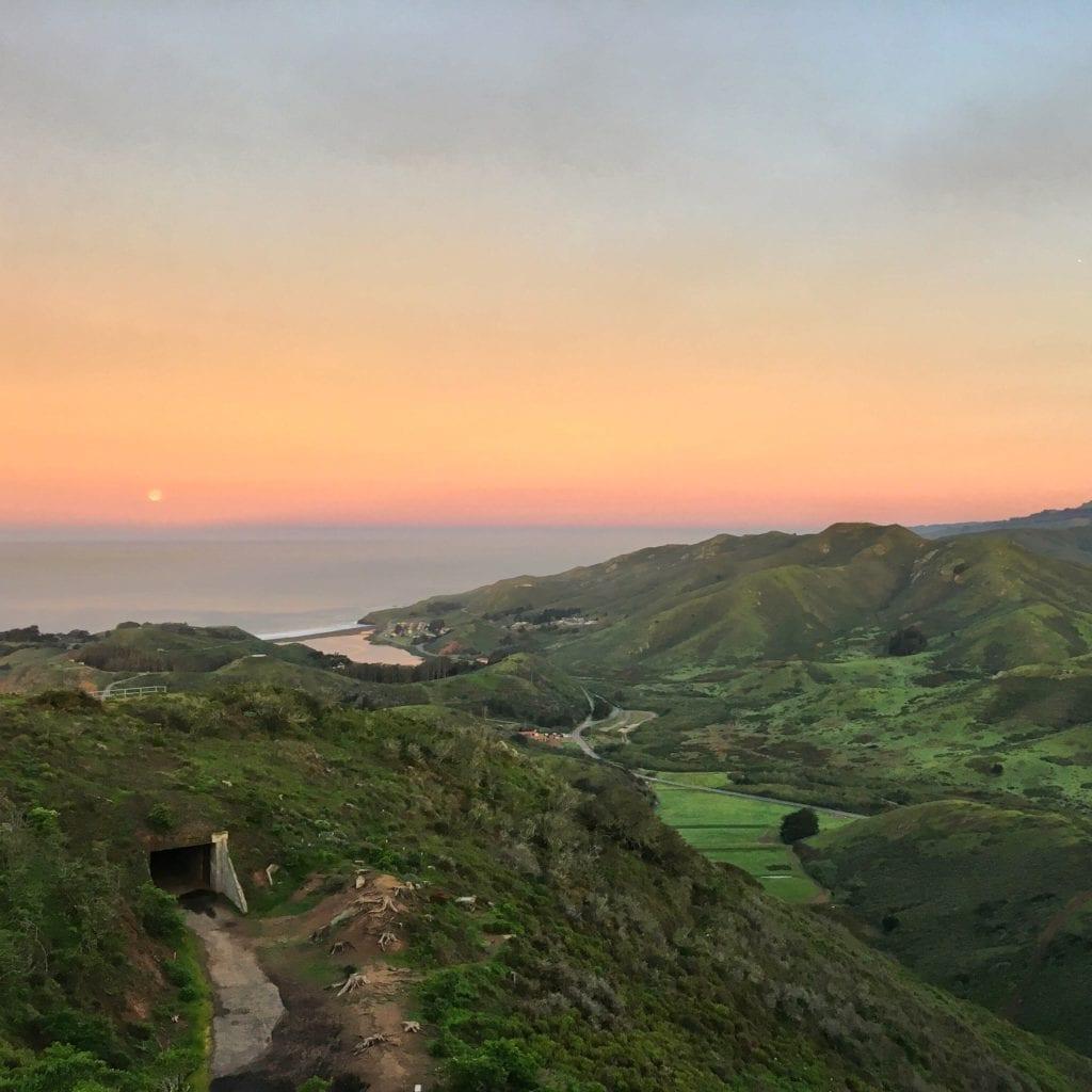 The Best Sunrise Hike Above the Golden Gate Bridge | Traveling Spud