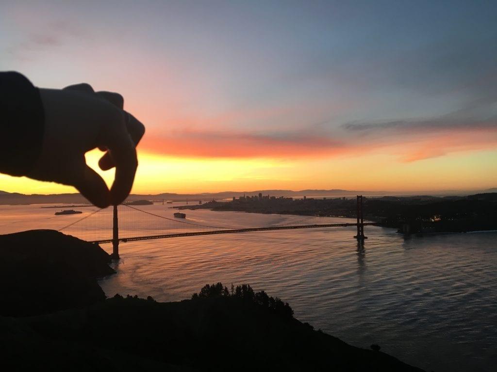 The Best Sunrise Hike Above the Golden Gate Bridge