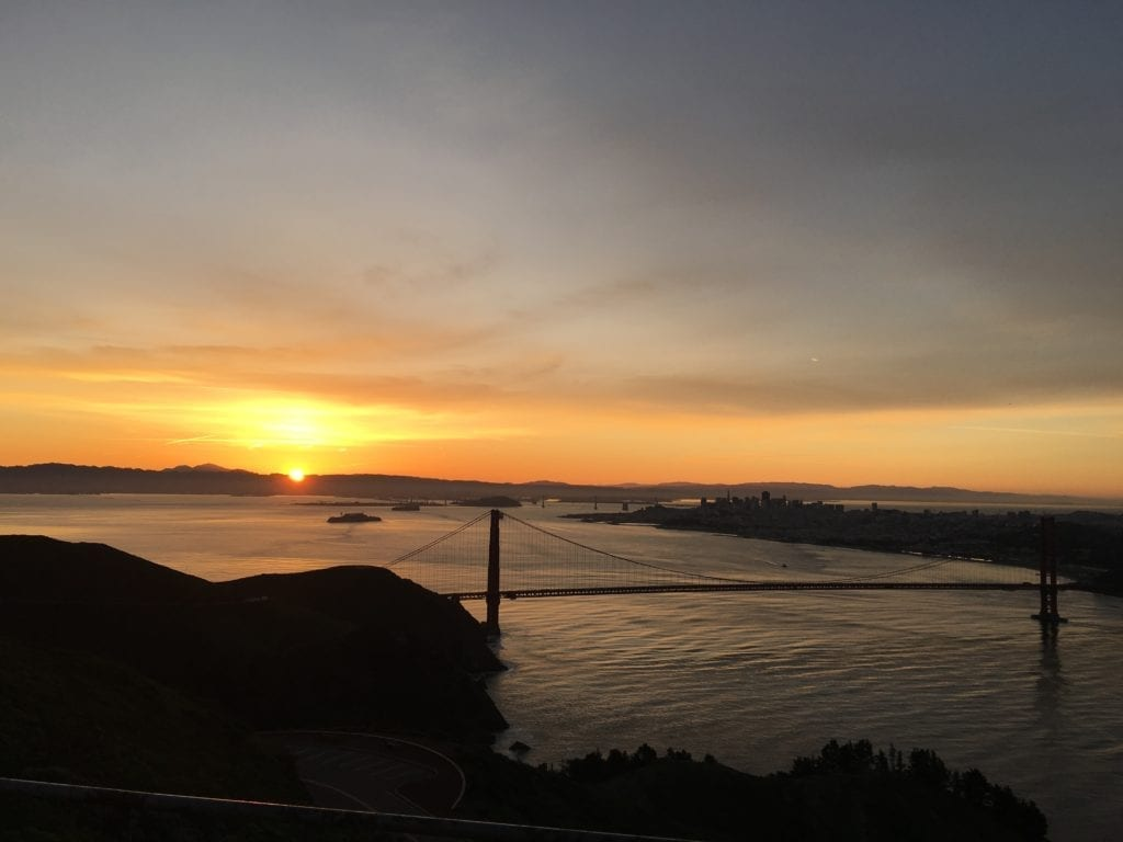 Best Sunrise Hike Above the Golden Gate Bridge