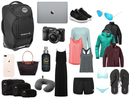 What to Pack for a Trip Around the World in All Climates