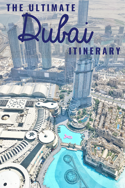 The Ultimate 1 Week Dubai Itinerary
