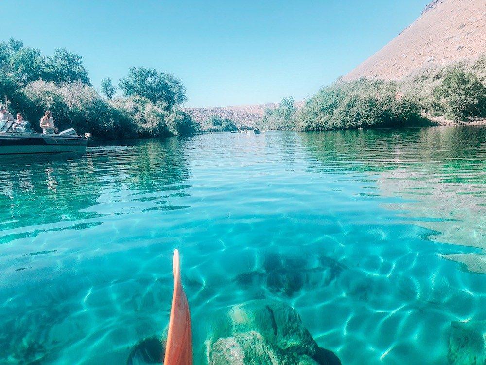 blue heart springs kayak