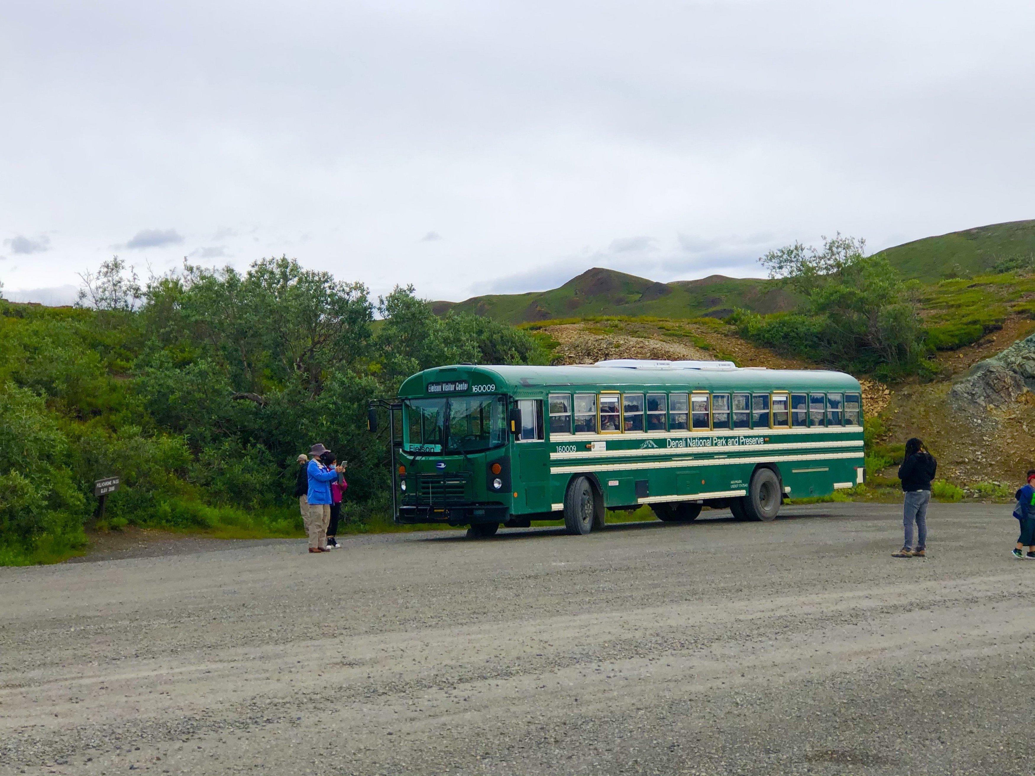 Eielson bus