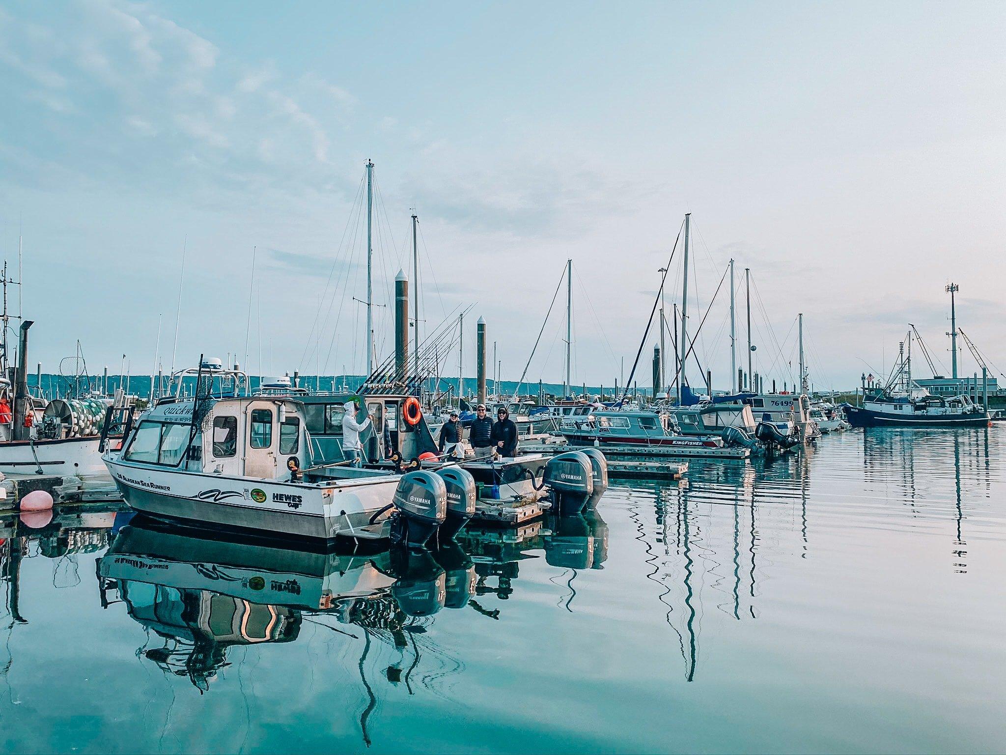 Alaska Itinerary homer bay