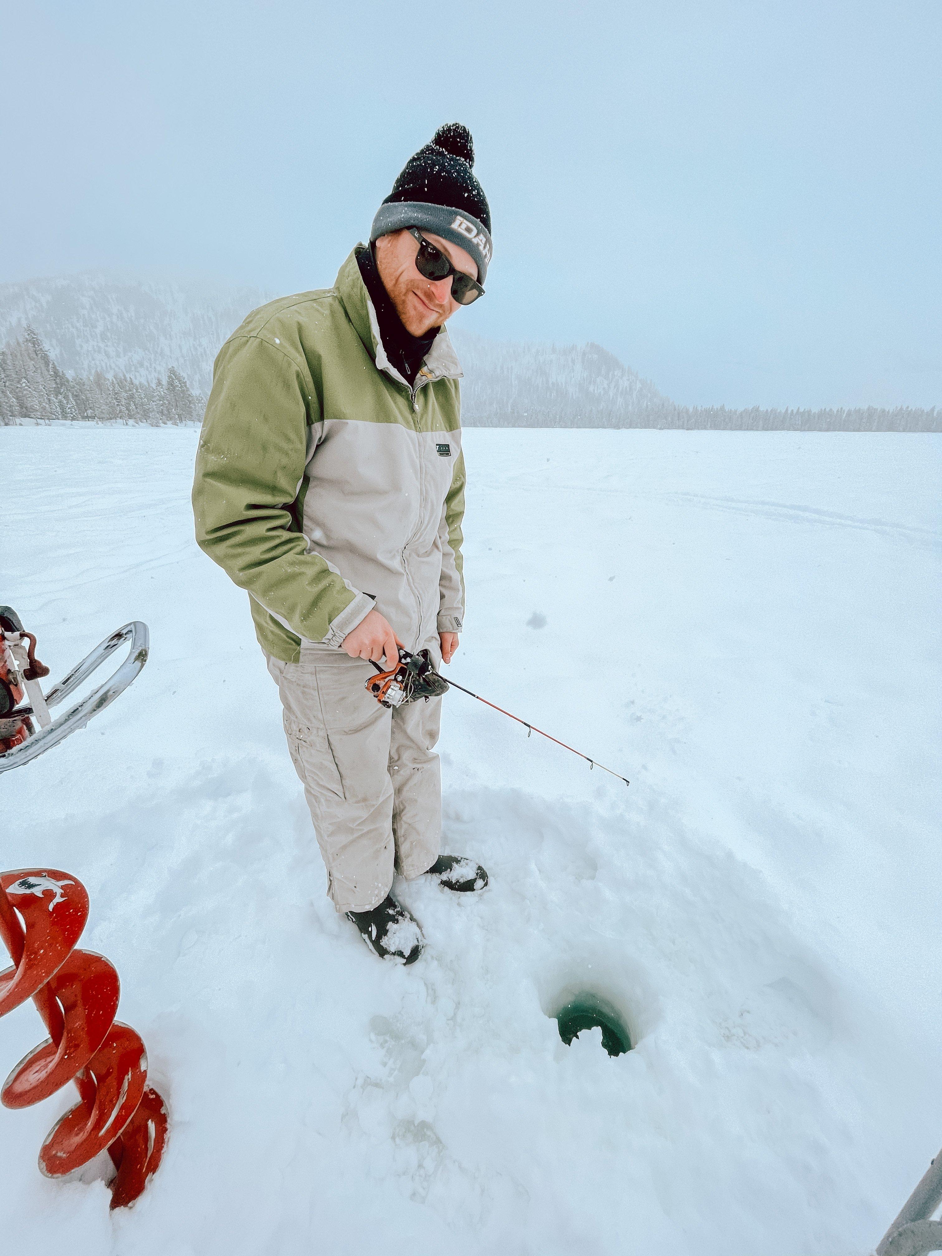 ice fishing Cascade Idaho itinerary