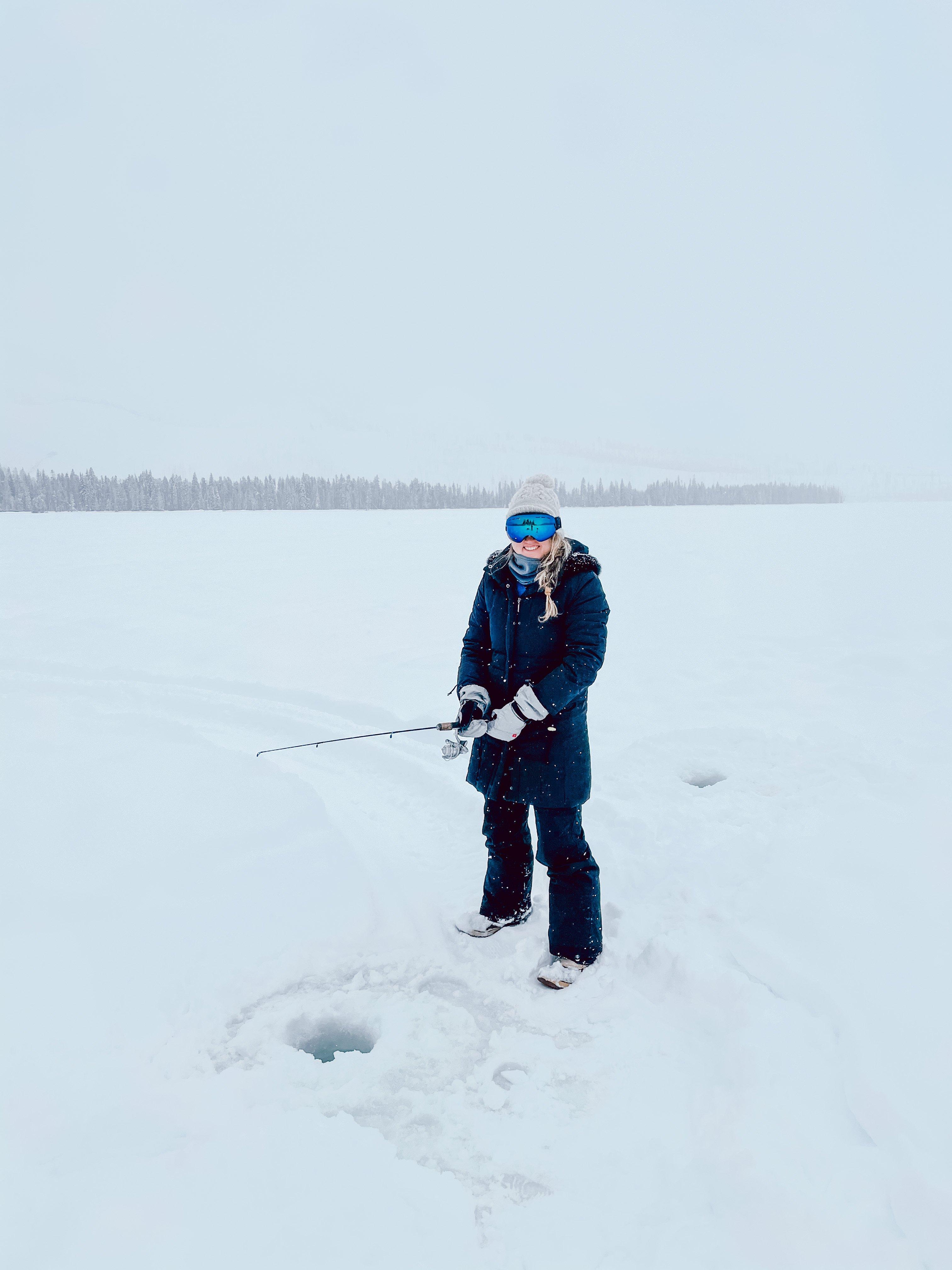 Cascade Idaho itinerary ice fishing