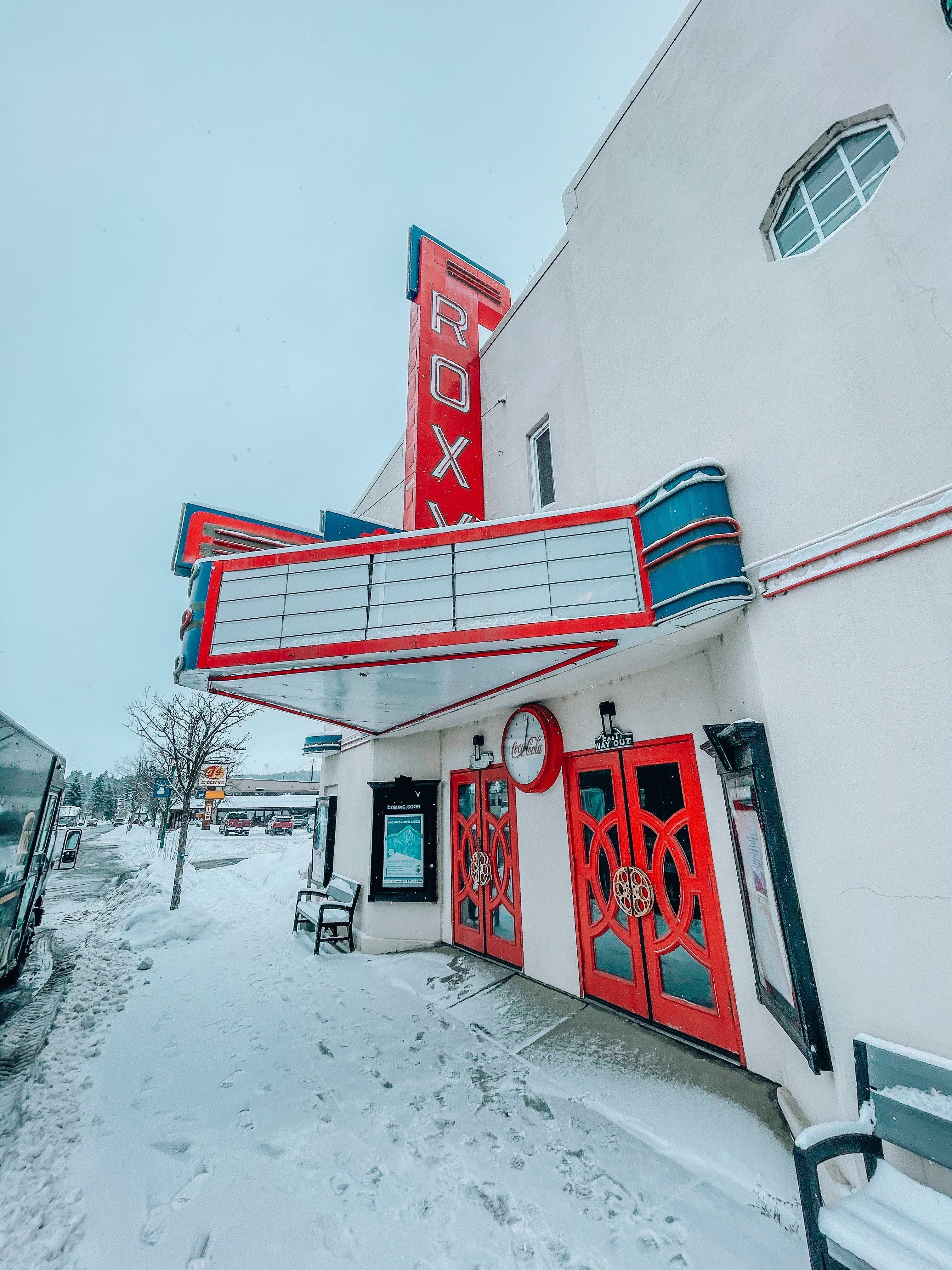 Roxy Theatre Cascade Idaho