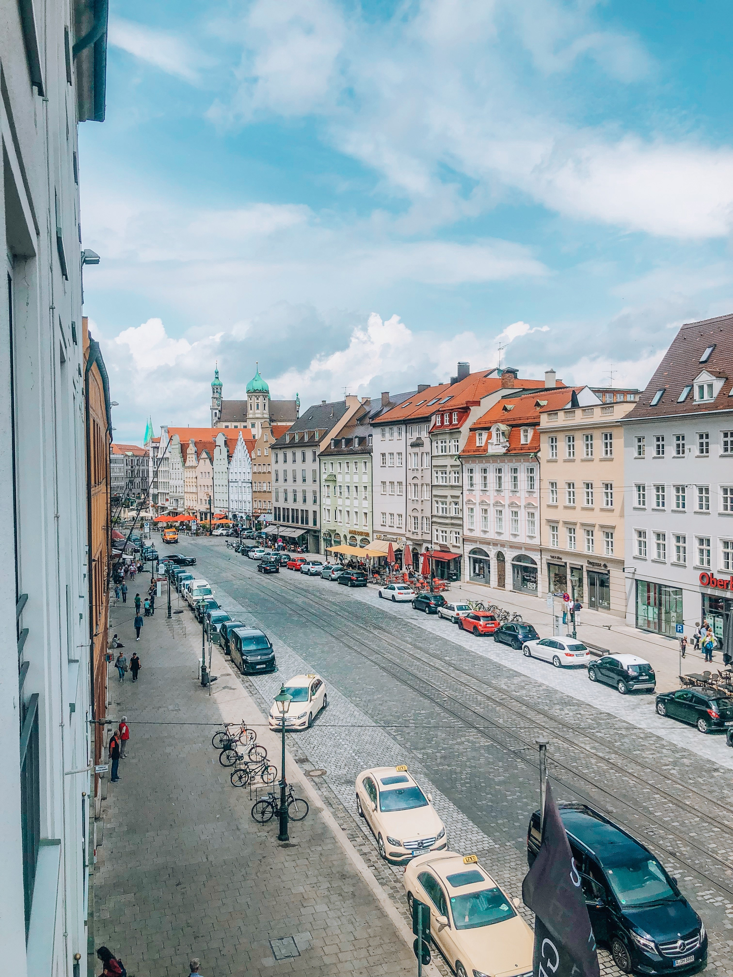 View from Augsburg Hotel