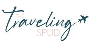 The Traveling Spud Logo