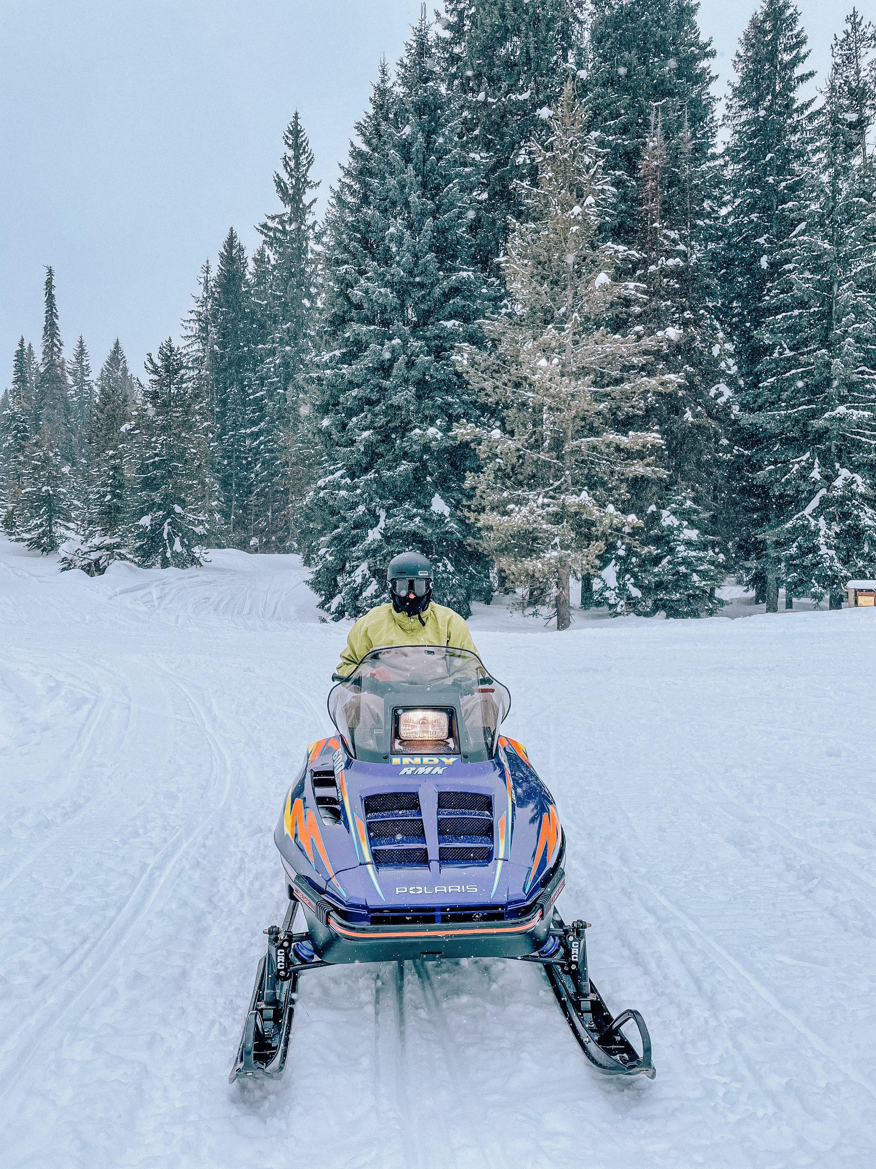 snowmobiling Cascade Idaho