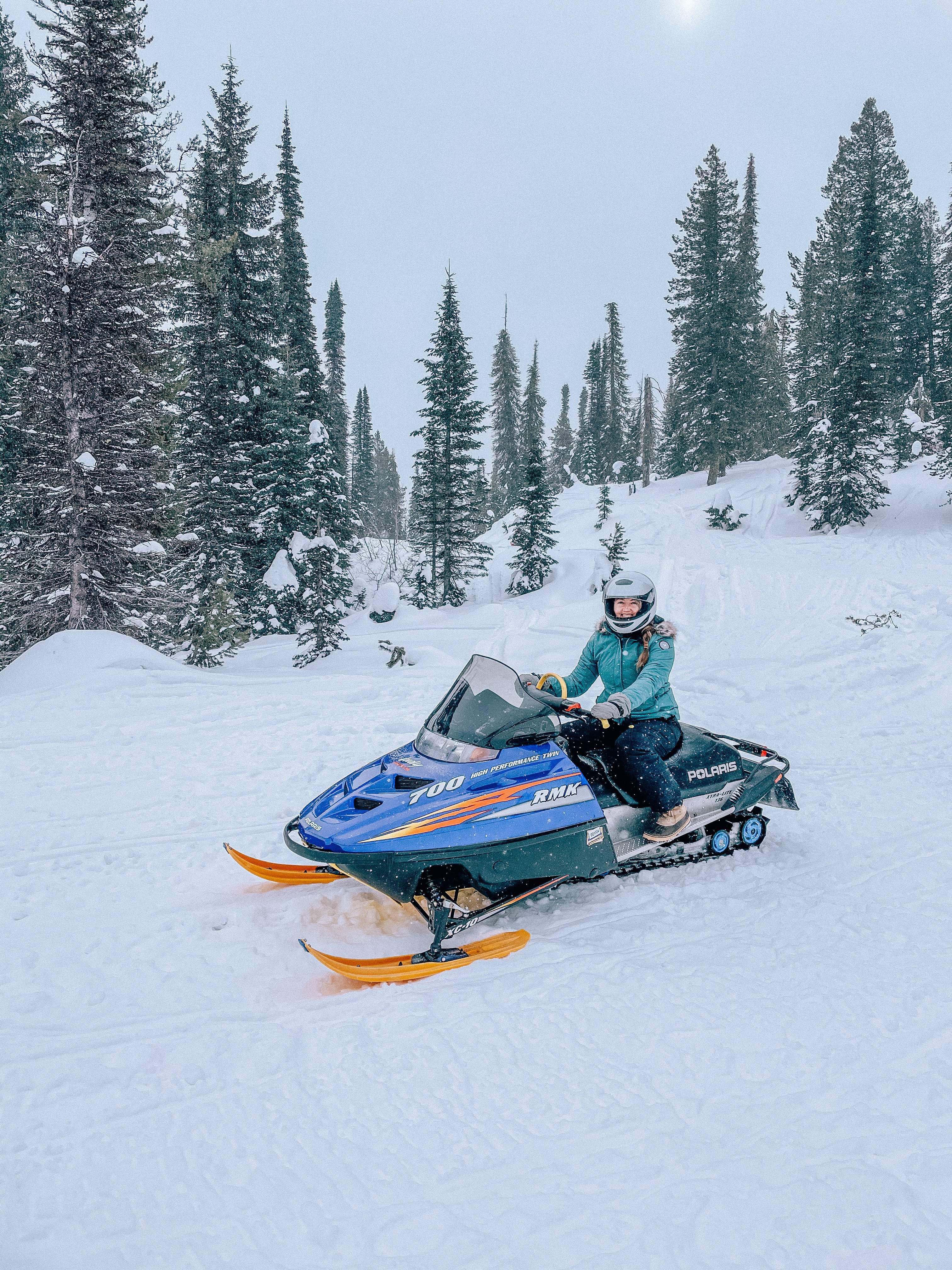 Cascade Idaho snowmobiling