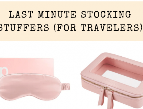 The Best Stocking Stuffers for Travelers in 2020